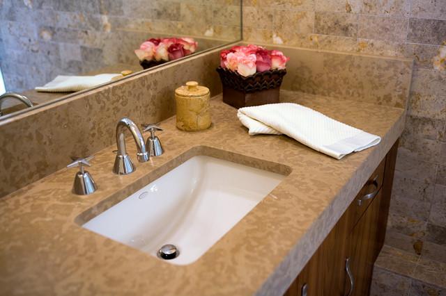 Sweeney Residence modern-bathroom