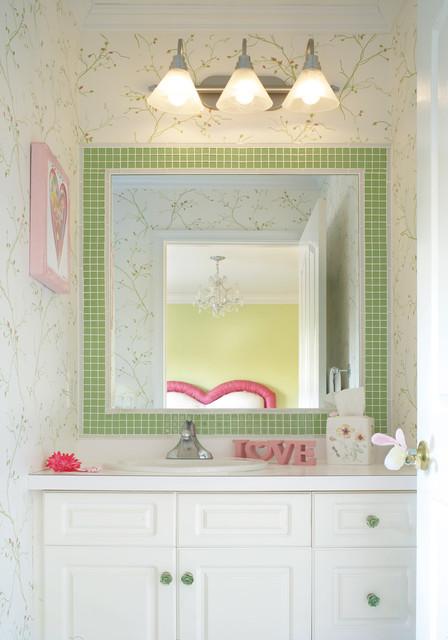 SWEETHEART ENSUITE eclectic-bathroom