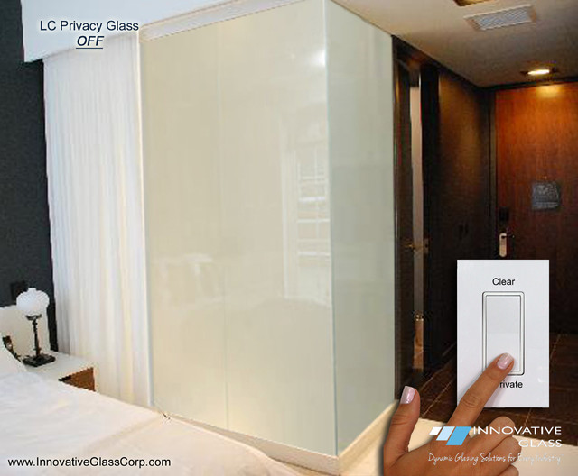 Switchable Privacy Glass Bedroom Bathroom Divider Wall