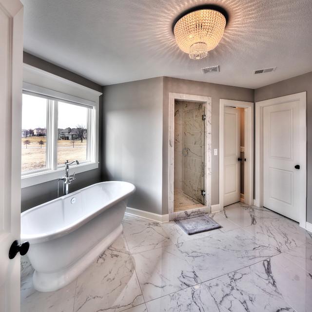 Sycamore Floor Plan Traditional Bathroom Kansas City