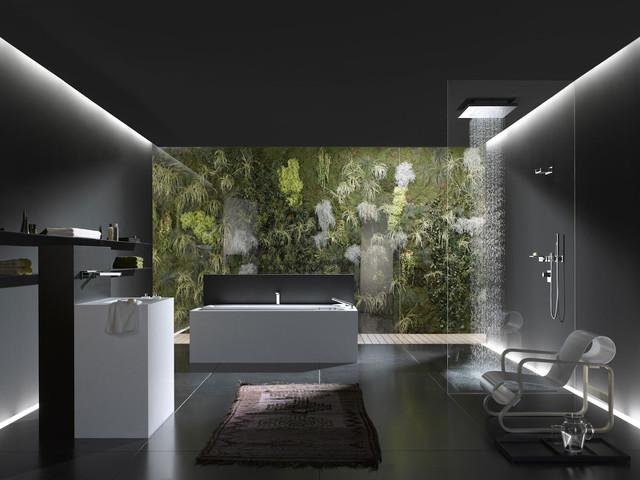 Symetrics bath and spa by dornbracht modern bathroom chicago by studio41 home design for Studio41 home design showroom southside chicago
