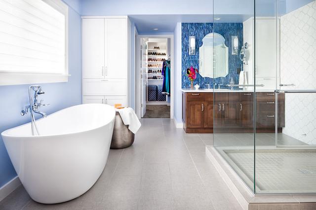 Symmetry bath contemporary bathroom austin by cgs for Adjustment bureau bathroom scene