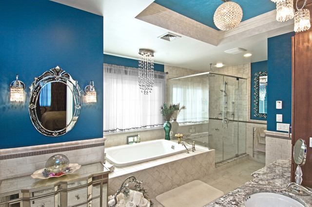Syosset Home - House Magazine Jan/Feb 2013 traditional-bathroom