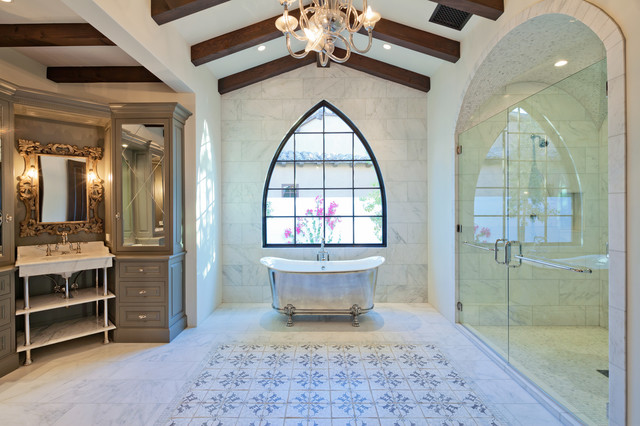 Tabarka installations mediterranean bathroom phoenix for 8x4 bathroom designs