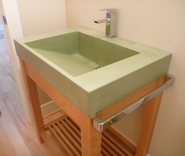ramp sinks for bathrooms tabor ramp sink contemporary bathroom portland by 20083