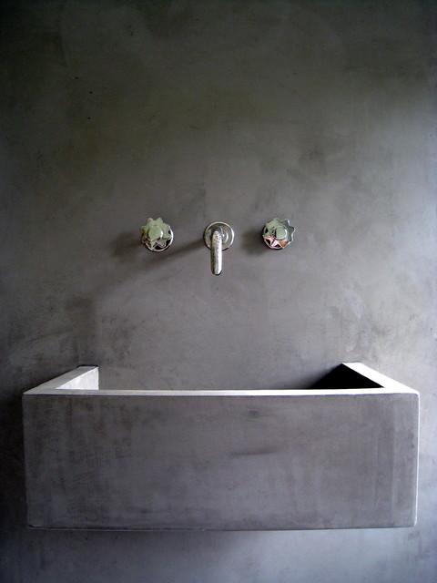 tadelakt sink. Black Bedroom Furniture Sets. Home Design Ideas