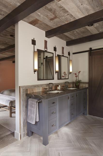 Tahoe Modern Rustic Bathroom San Francisco By