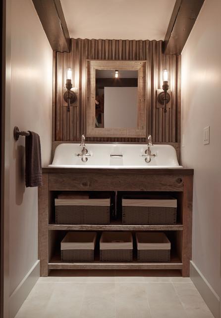 Popular Rustic Bathroom by Artistic Designs for Living Tineke Triggs
