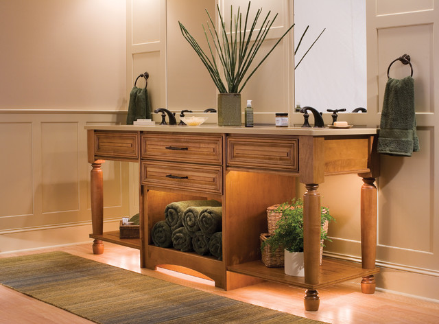 Take Home a Tropical Retreat traditional bathroom