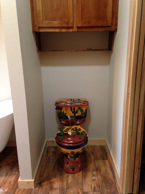 Talavera Toilet & Tiles - Rustic - Bathroom - Houston - by ...