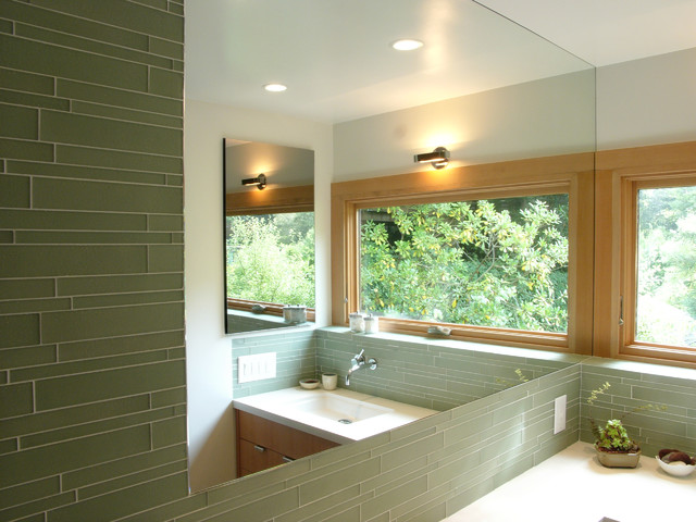 tamalpais house modern bathroom