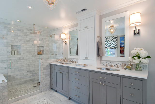 Tamara Mack Design   Interiors Traditional Bathroom