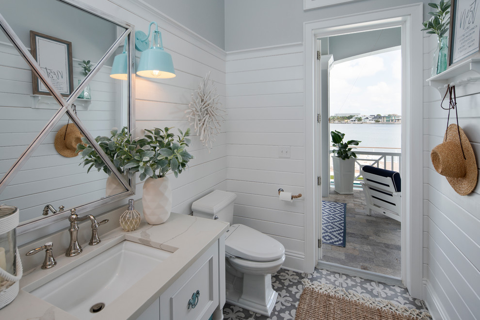 Tampa Home 10 - Beach Style - Bathroom - Tampa - by Bay ...