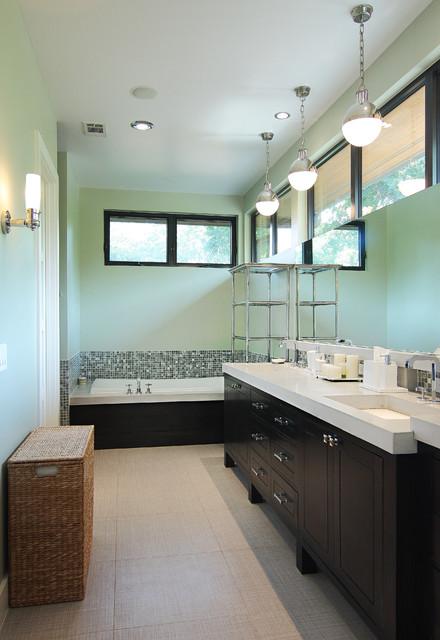 Tarry Town Custom contemporary-bathroom