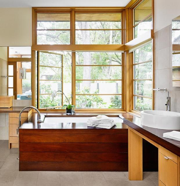 Tarrytown House asian-bathroom