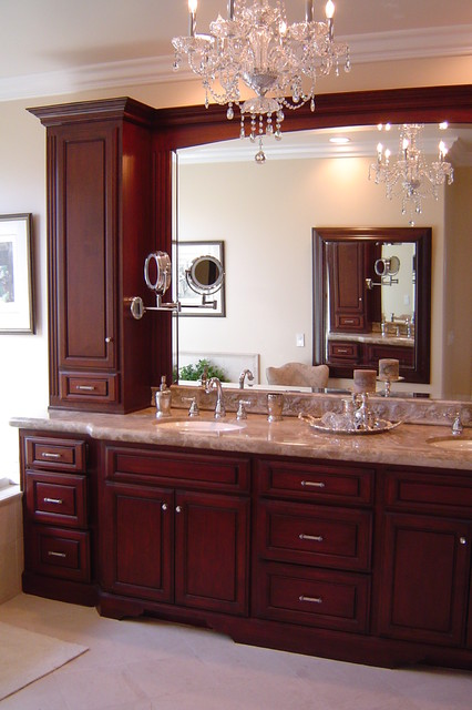 Tarzana - Leff traditional bathroom