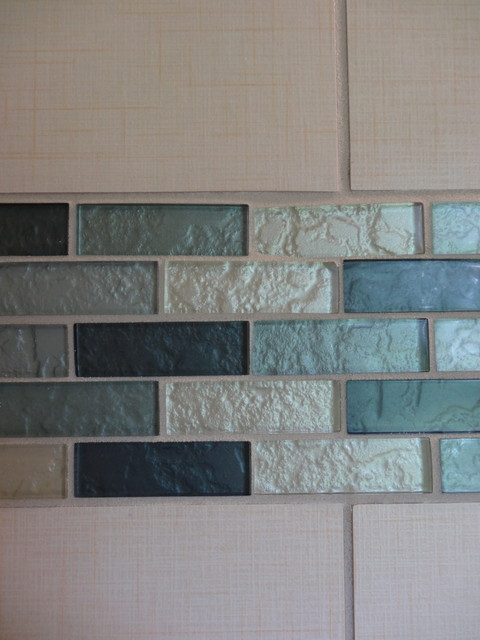 Teal And Turquoise Glass Tile