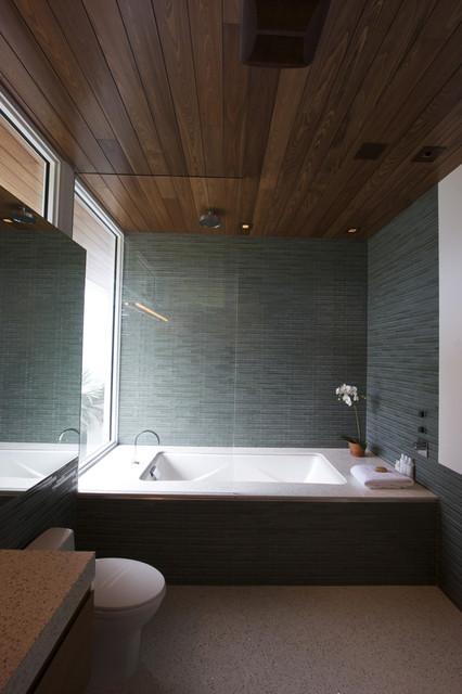 teal bath 1 modern-bathroom