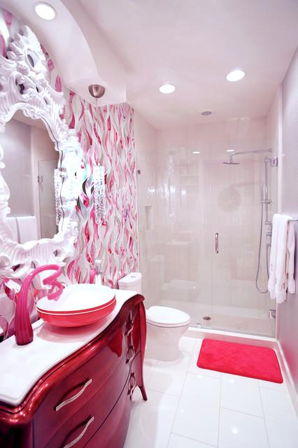 Teen Girls Bath And Bedroom San Antonio Tx Contemporary