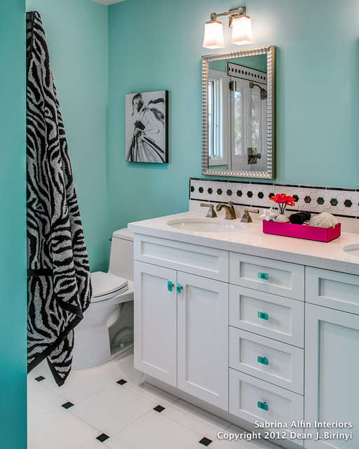 teen girls 39 bath project contemporary bathroom san