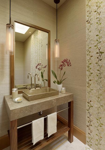 Tehama ranch bathroom modern bathroom san francisco for Modern ranch bathroom