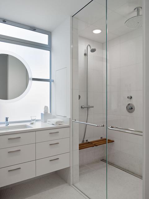 Telegraph Hill Residence modern-bathroom