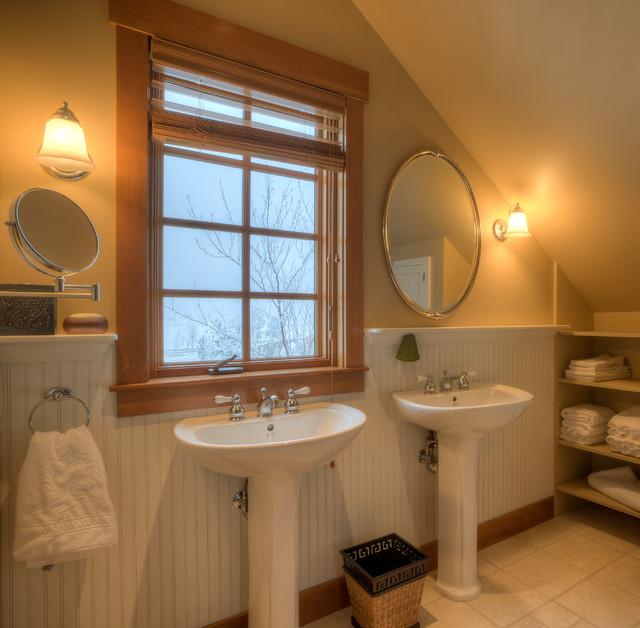 Ten Broeck Farm - Winter 2013 farmhouse-bathroom