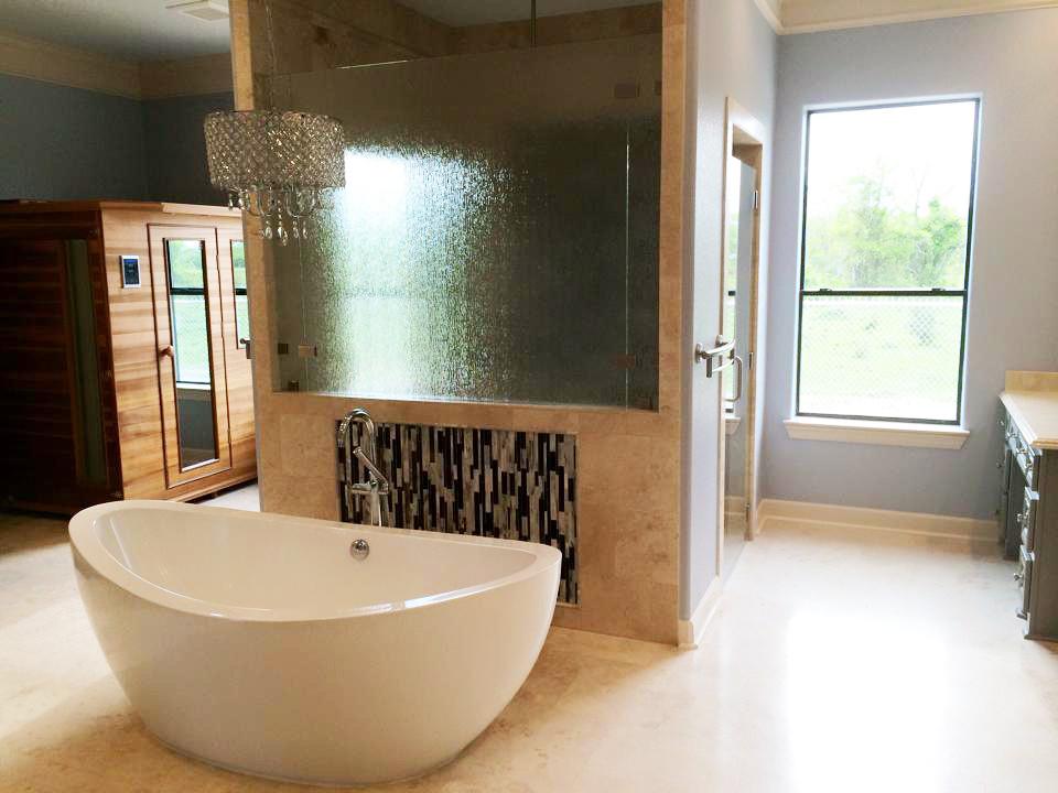 Texas Eclectic Master Bath