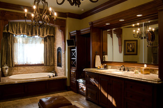 Texas Hill Country Style Traditional Bathroom Oklahoma City By Brent Gibson Classic Home