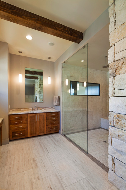 Texas modern modern bathroom austin by bella villa for Bella villa interior design