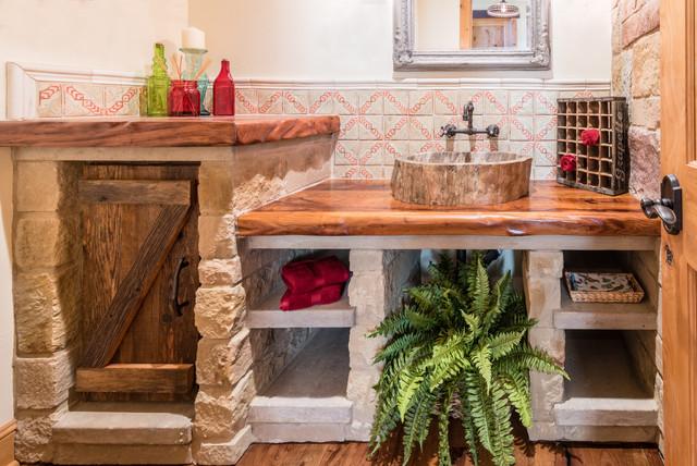 Wondrous Texas Ranch House Mediterranean Bathroom Austin By Download Free Architecture Designs Scobabritishbridgeorg