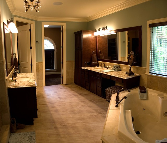 mediterranean bathroom by Otero Signature Homes