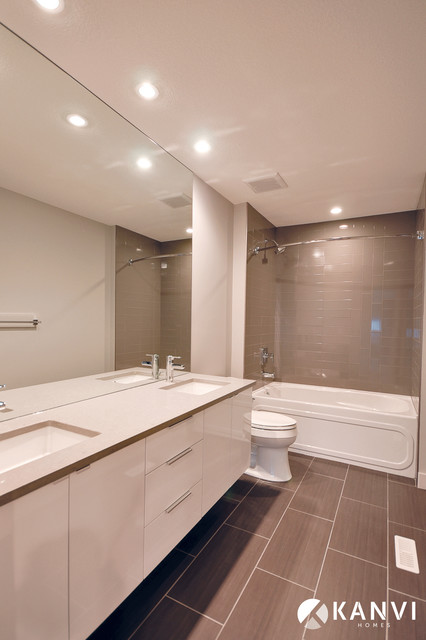 The allay contemporary bathroom edmonton by kanvi for Bathroom ideas edmonton