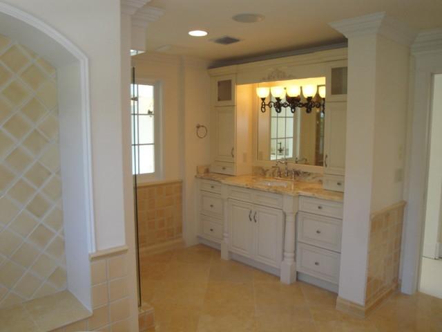The Atlantic 1945 Historic House Restoration Traditional Bathroom Miami By Hanna Homes
