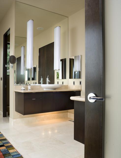 The aurea contemporaneo stanza da bagno portland for Piani domestici di alan mascord