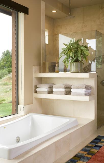 The aurea contemporary bathroom portland by alan mascord design associates inc for Bathroom designers portland oregon