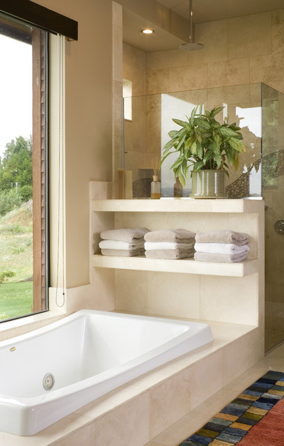 The Aurea contemporary bathroom