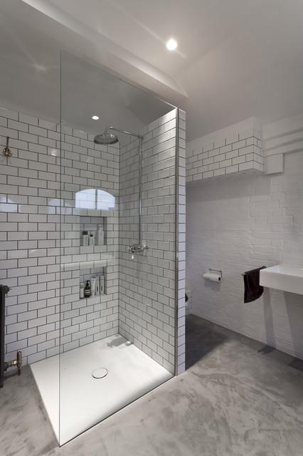 the bathroom feix merlin modern badezimmer london von feix merlin architects. Black Bedroom Furniture Sets. Home Design Ideas