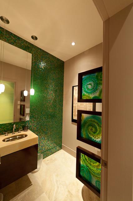 The bauhaus bathrooms contemporary bathroom edmonton for Bathroom decor edmonton