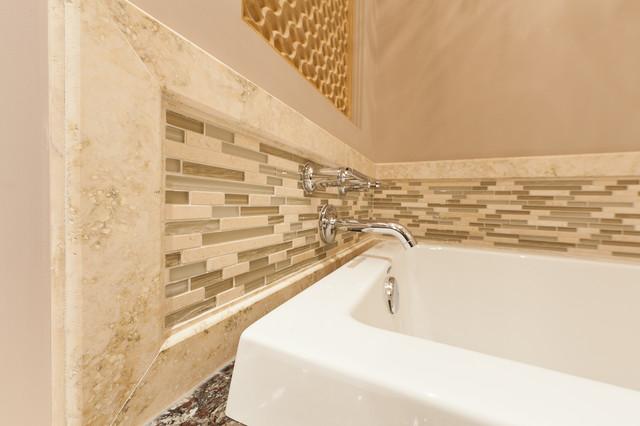 the Bauhaus Bathrooms contemporary-bathroom