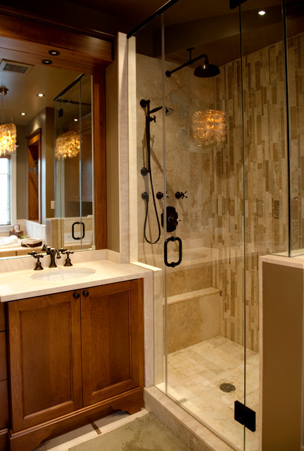 The Beach Award Winning Traditional Bathroom Toronto By Bette Jane Jelly Design