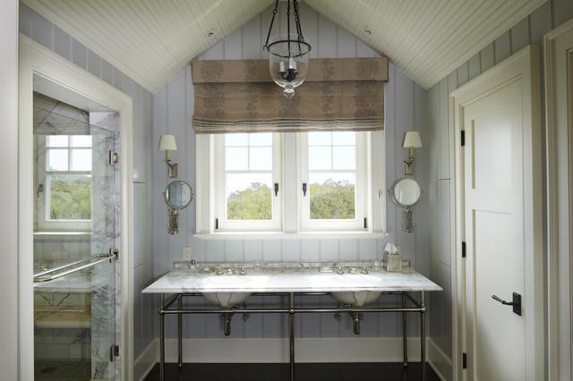 The Beach House Beach Style Bathroom