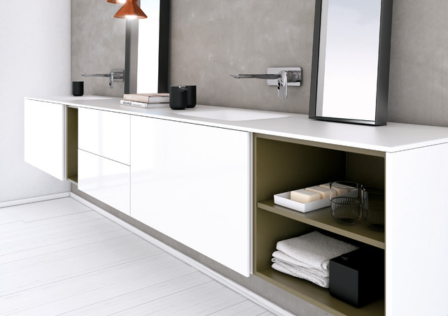 The Beautiful Collection Of Inbani Bathroom Furniture From Spain Contemporary