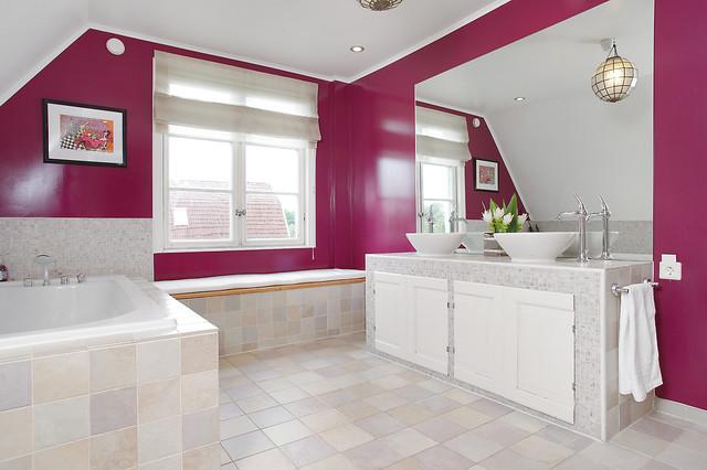 The big bathroom eclectic-bathroom
