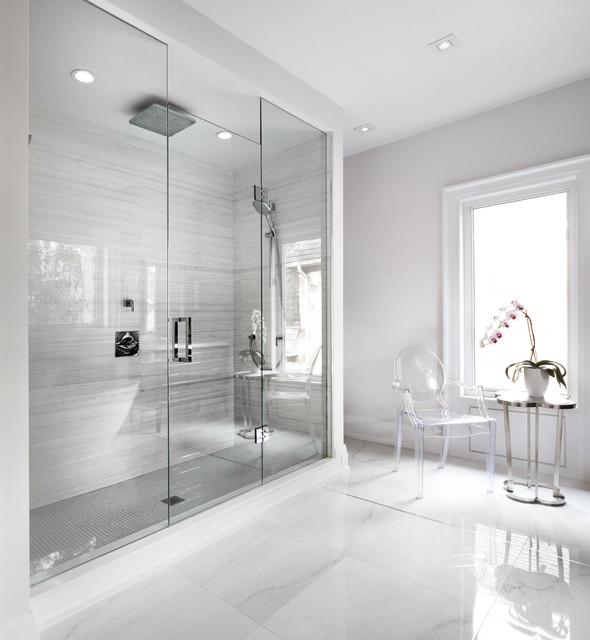 The Boulevard Contemporary Bathroom