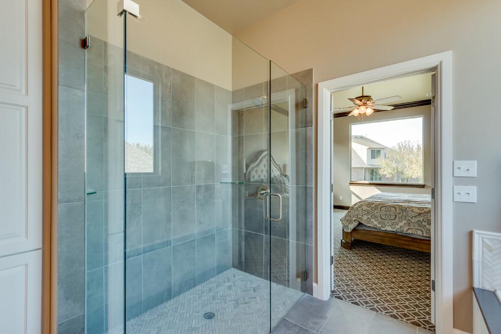 The Carrington - Traditional - Bathroom - Oklahoma City ...