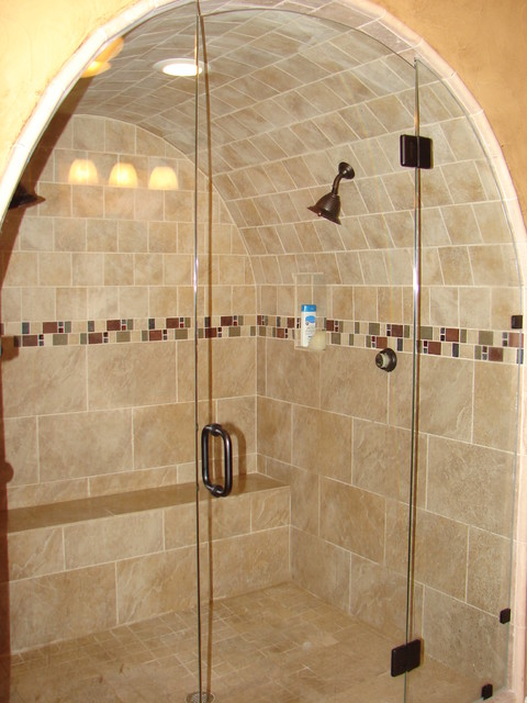 The Cave Shower - Traditional - Bathroom - dallas - by ...