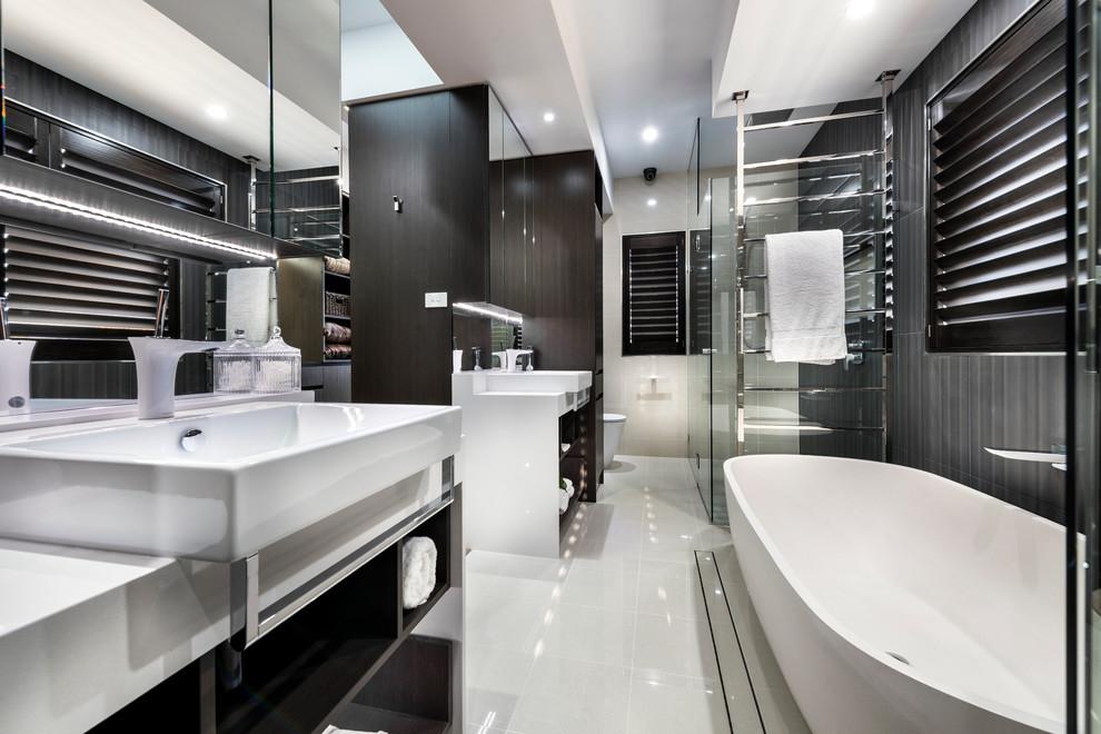 The Curzon - Display Home - Contemporary - Bathroom ...