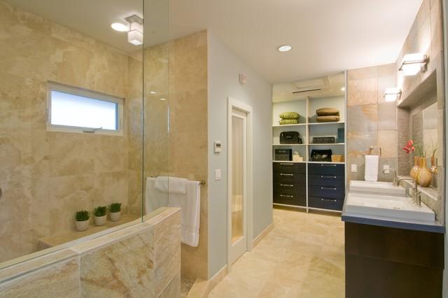The Epicurean Suite contemporary-bathroom