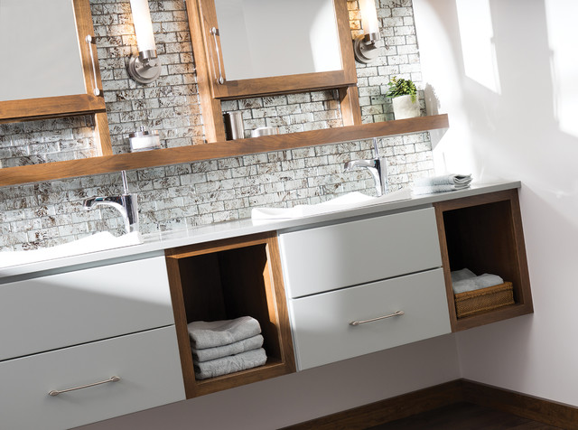 The future of floating bathroom vanities contemporary for Floating bathroom cupboards